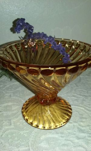 "Antique Orange Glass 5"" diameter for Sale in San Bruno, CA"