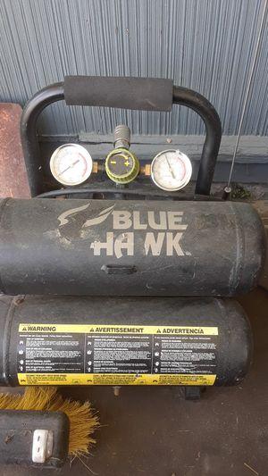 Blue hawk air compressor for Sale in Dravosburg, PA