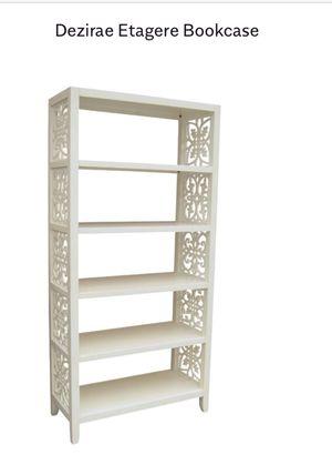 Antique white bookcase still in box. $350. for Sale in Arroyo Grande, CA