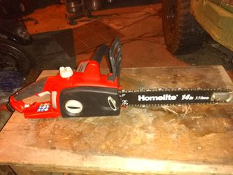 """Homelite 14"""" electric chainsaw for Sale in Denver,  CO"""