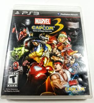 Marvel vs Capcom 3 fate of 2 worlds for Playstation 3 PS3 for Sale in Bakersfield, CA