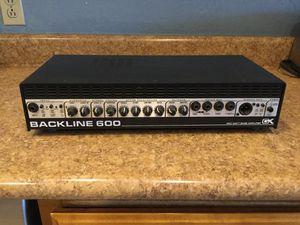 Gallien-Krueger Backline 600 bass amp for Sale in Roosevelt, AZ