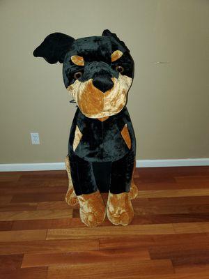 Huge Doberman Stuffed Animal for Sale in Portland, OR