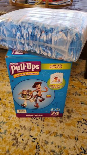 Huggies Pull Up 4-5, 111 diapers for Sale in Fort Lauderdale, FL