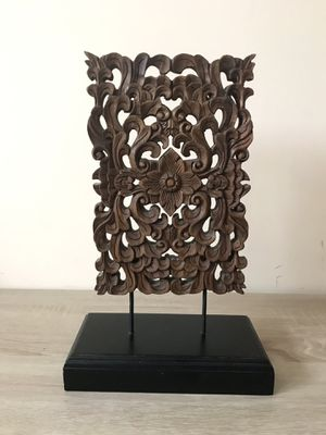 Carved Wood Decor for Sale in Raleigh, NC