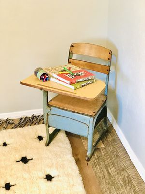 School Desk and Chair vintage for Sale in San Diego, CA