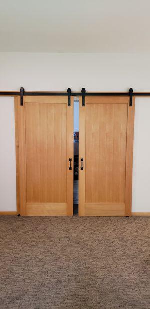 Barn doors hardware included for Sale in Redmond, WA