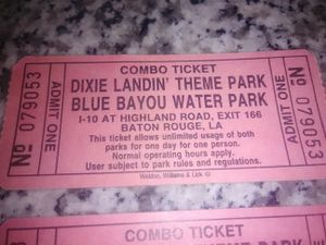 Blue bayou water park /Dixie landin theme park for Sale in Hattiesburg, MS