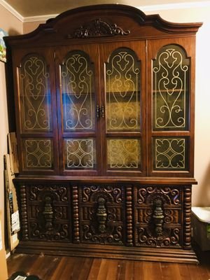 Ornate China Cabinet for Sale in West Mifflin, PA