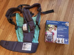 Infantino Cuddle Up baby carrier for Sale in Cherry Hill, NJ