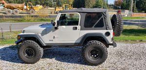 2004 Jeep Wrangler TJ Rubicon Long-Arm Lift for Sale in Bonney Lake, WA
