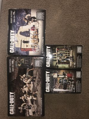 Mega Bloks Call of Duty Construction Sets for Sale in Columbus, OH