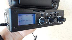BeachTek DXA-5D Dual XLR Audio Adapter for DSLR Canon Cameras for Sale in Princeton, FL