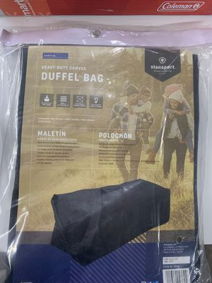 Stansport Heavy Duty Duffle Bag for Sale in North Haven, CT