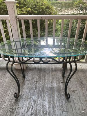 Antique glass table for Sale in Haverford, PA