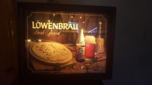 Working vintage Lowenbrau beer sign for Sale in Chicago, IL