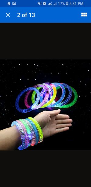 Led wristbands for Sale in Mulvane, KS