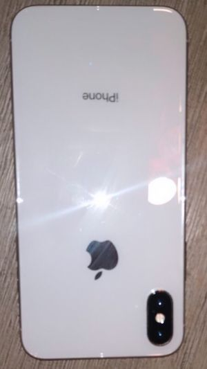"""Apple iPhone X, Unlocked 5.8"""", 64 GB - white for Sale in Penn Hills, PA"""