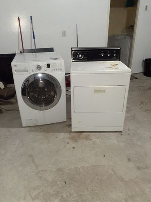 LG washer and Kenmore dryer for sale for Sale in Houston, TX