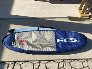 FCS 6'0 Double Travel Surfboard Bag for Sale in San Antonio, TX