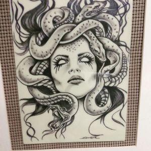 Framed tattoo MEDUSA Tattoo for Sale in Largo, FL