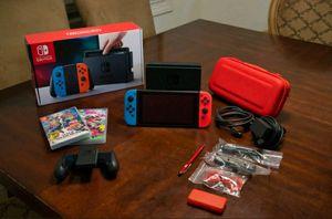 Nintendo Switch Console Bundle with Super Smash Bros. & Splatoon 2, Perfect! for Sale in Miami, FL