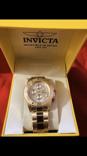 18KT Gold Invicta Watch for Sale in Portland, OR