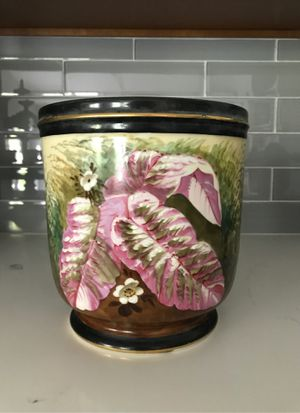 Hand Painted Flower Pot for Sale in Mission Viejo, CA