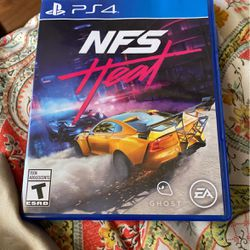 Need For Speed Heat For PS4 for Sale in Elgin,  IL