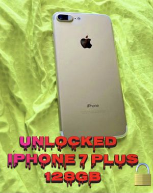Unlocked iPhone 7 Plus 128gb for Sale in Chandler, AZ