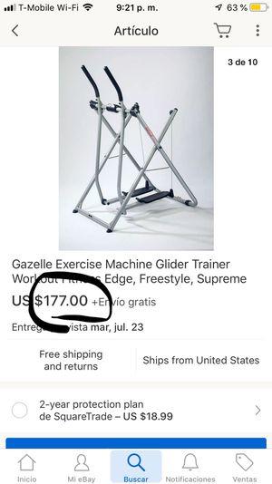 Gazelle edge exercise machine for Sale in North Miami, FL