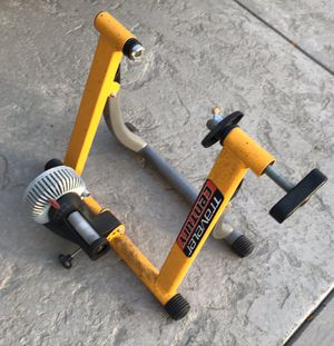 Traveler Century Folding Bike Bicycle Trainer Yellow for Sale in Livermore, CA