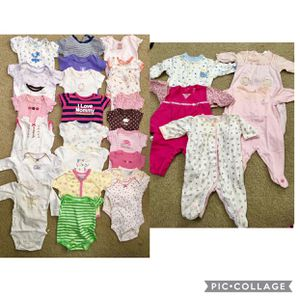 Baby Girl Clothes 0-3 Months for Sale in Austin, TX