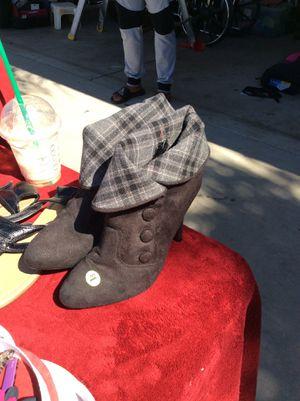 Short heel booties for Sale in Selma, CA