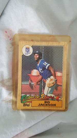 2 cards Bo Jackson baseball cards for Sale in Kent, WA