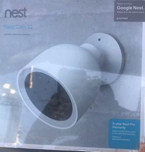 Google nest camera IQ brand new for Sale in Chula Vista, CA