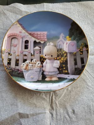 Precious Moments Collection Plate for Sale in Buena Park, CA