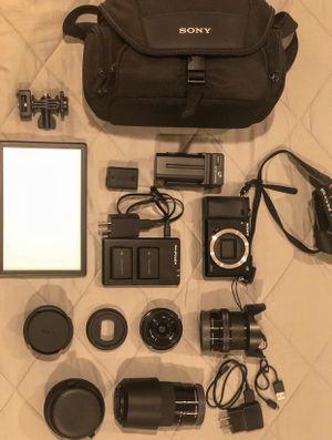 Sony a-6000 camera for Sale in La Puente, CA