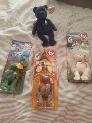 Beanie baby bundle all for $80 for Sale in Antioch, CA
