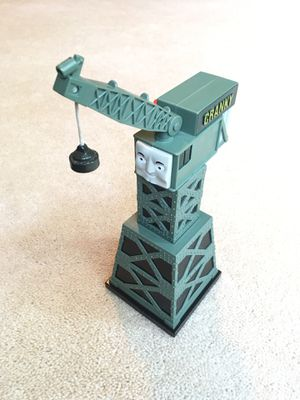 Thomas and Friends Cranky the Crane with Magnet Rotates Lifts for Sale in Woodstock, GA