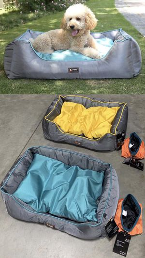 NEW $20 each UFBEMO Medium Size 30x22x9 Inch Machine Washable Waterproof Sleeper Lounge Orthopedic Dog Bed Nonslip Bottom 2 Colors for Sale in Los Angeles, CA
