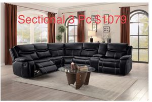Sectional 3 Pc $1079 for Sale in San Jose, CA