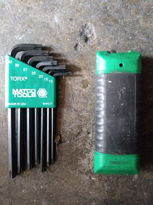 Matco Tools and Snap-On Torx Allen Wrench Sets for Sale in Bell Gardens, CA