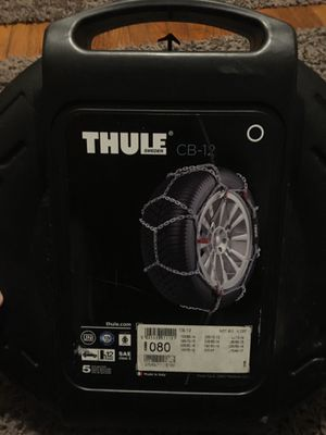 Tire chains model CB-12 for Sale in Columbus, OH