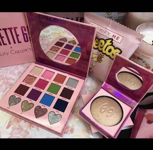 Annette69 Palette & Highlighter by Beauty Creations