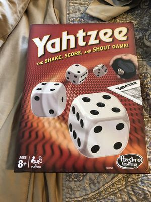 Yahtzee for Sale in Sultan, WA