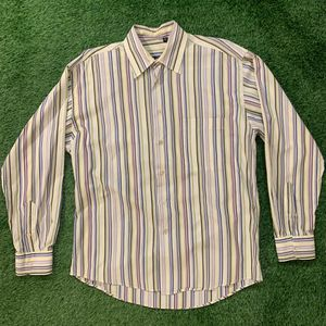 Burberry London Striped Button Down Shirt Med for Sale in Palm Springs, CA