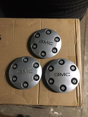 Used (3) GMC CENTER CAPS for Sale in San Diego, CA