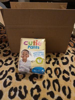 Diapers Cutie Pant Training Pant, Unisex Size 4T-5T for Sale in Phoenix, AZ