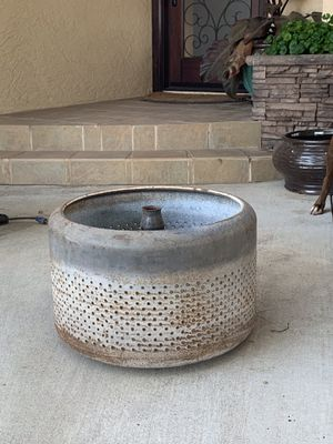 All you campers out there! Washing machine drum fire pit 🔥 for Sale in Chula Vista, CA